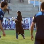 تصاویرنیکی کریمی در تمرین استقلال