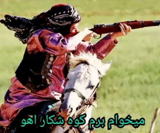 دانلود آهنگ میخوام برم کوه شکار آهو از حسین عامری