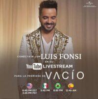 دانلود آهنگ Luis Fonsi به نام Vacio واسیو